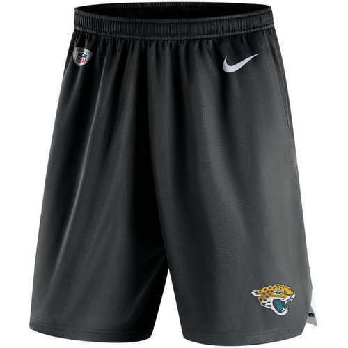 Men's Jacksonville Jaguars Nike Black Knit Performance Shorts