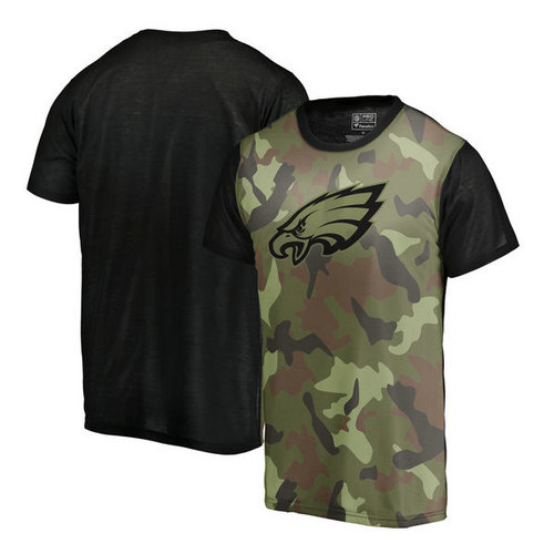 NFL Pro Line Philadelphia Eagles Camo Blast Sublimated T-Shirt