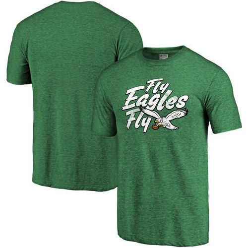 Philadelphia Eagles Pro Line Hometown Collection Tri-Blend T-Shirt - Kelly Green