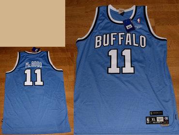 Reebok Buffalo Braves #11 Bob McAdoo blue Jersey