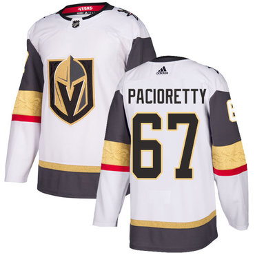 Adidas Vegas Golden Knights #67 Max Pacioretty White Road Authentic Stitched NHL Jersey
