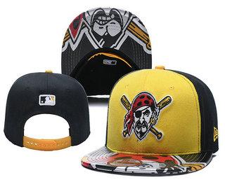 Pittsburgh Pirates Snapback Ajustable Cap Hat YD