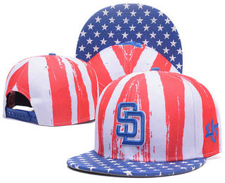 San Diego Padres Snapback Ajustable Cap Hat GS