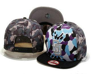 San Diego Padres Snapback Ajustable Cap Hat GS 4