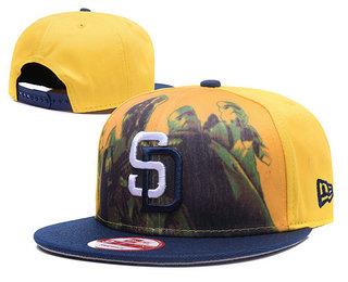 San Diego Padres Snapback Ajustable Cap Hat GS 2