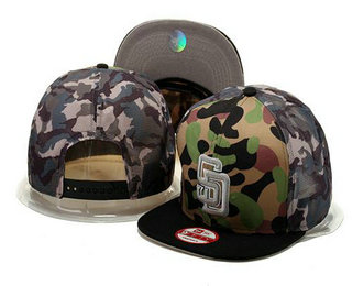 San Diego Padres Snapback Ajustable Cap Hat GS 3