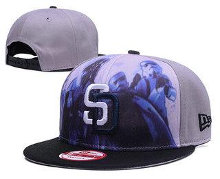 San Diego Padres Snapback Ajustable Cap Hat GS 1