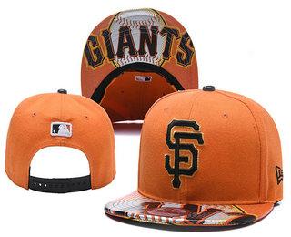 San Francisco Giants Snapback Ajustable Cap Hat