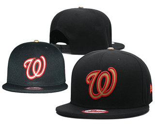 Washington Nationals Snapback Ajustable Cap Hat 9