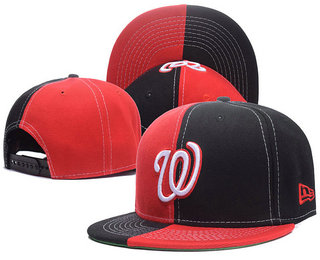 Washington Nationals Snapback Ajustable Cap Hat 3