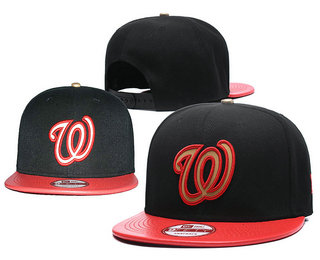Washington Nationals Snapback Ajustable Cap Hat 10