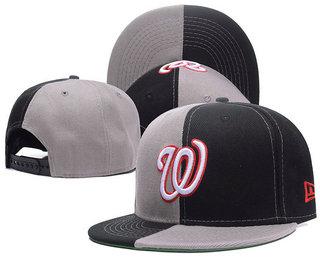 Washington Nationals Snapback Ajustable Cap Hat 2