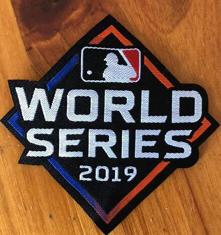 2019 World Series Patch