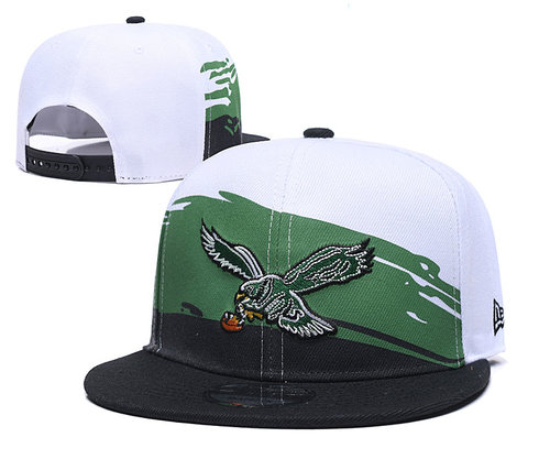NFL Philadelphia Eagles Fresh Logo Green Adjustable Hat