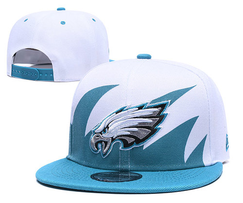 NFL Philadelphia Eagles Fresh Logo White Adjustable Hat