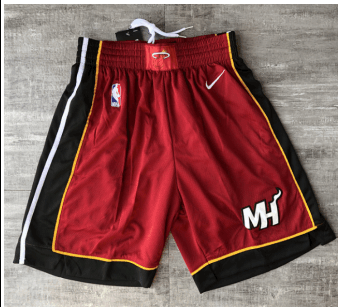 Nike Miami Heat Red Short