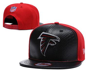 NFL Atlanta Falcons Rise Up Black Adjustable Hat YD