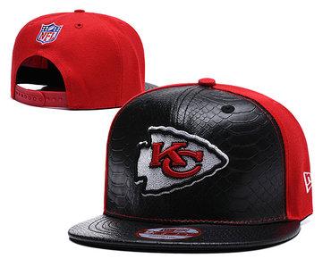 NFL Kansas Chiefs Team Logo Red Adjustable Hat YD