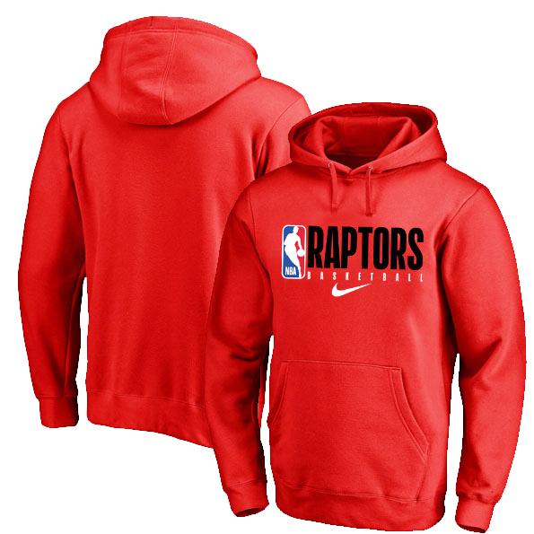 Toronto Raptors Nike Spotlight Practice Performance Pullover Hoodie Red