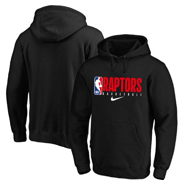 Toronto Raptors Nike Spotlight Practice Performance Pullover Hoodie Black