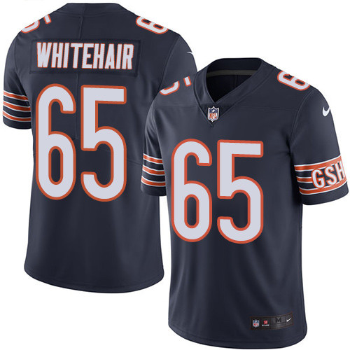 Men's Nike Chicago Bears #65 Cody Whitehair Navy Blue Team Color Stitched Football Vapor Untouchable Limited Jersey