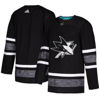 Men's San Jose Sharks Black 2019 NHL All-Star Game Adidas Jersey