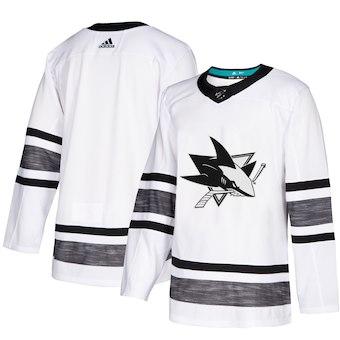 Men's San Jose Sharks White 2019 NHL All-Star Game Adidas Jersey