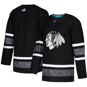 Men's Chicago Blackhawks Black 2019 NHL All-Star Game Adidas Jersey