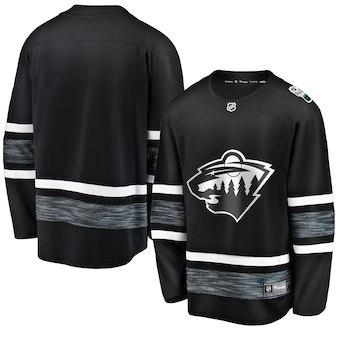 Men's Minnesota Wild Black 2019 NHL All-Star Game Adidas Jersey