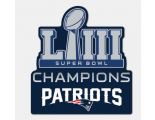 2019 Super Bowl LIII Champion Patch