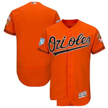 Men's Baltimore Orioles Orange 2019 Spring Training Flexbase Jersey