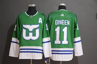 Men's Hartford Whalers #11 Kevin Dineen Adidas Jersey