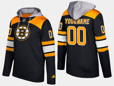 Adidas Bruins Men's Customized Name And Number Black Hoodie