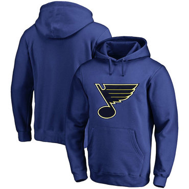 St. Louis Blues Blue Men's Customized All Stitched Pullover Hoodie
