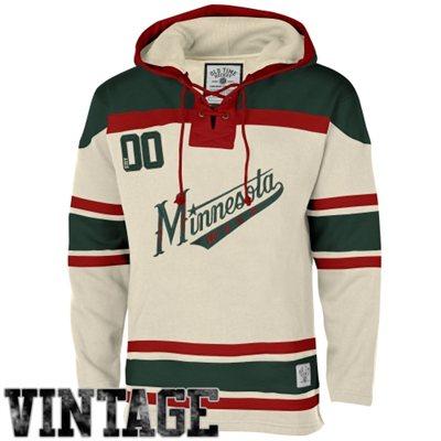 Wild Cream Vintage Men's Customized Hooded Sweatshirt