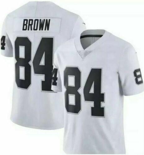 Men's Oakland Raiders 84 Antonio Brown White Vapor Untouchable Limited Jersey