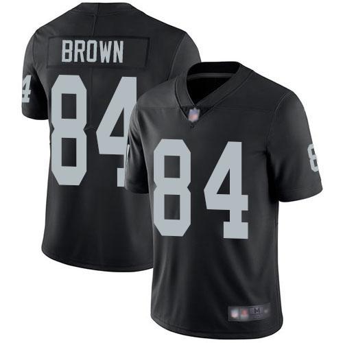 Youth Oakland Raiders #84 Antonio Brown Black Vapor Untouchable Limited Jersey