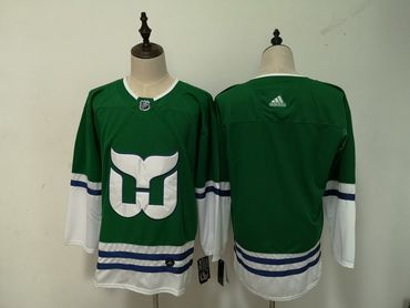 Men's Hartford Whalers adidas Blank Green Home Jersey