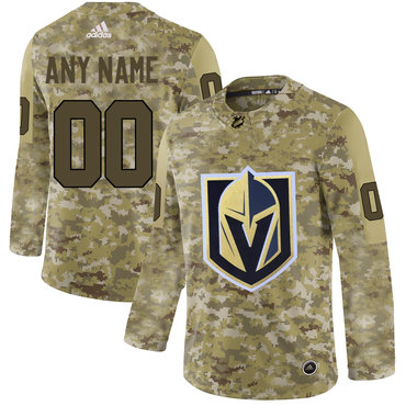Vegas Golden Knights Camo Men's Customized Adidas Jersey