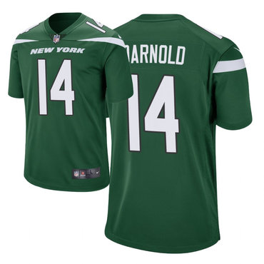 Men's Nike New York Jets 14 Sam Darnold Green New 2019 Vapor Untouchable Limited Jersey
