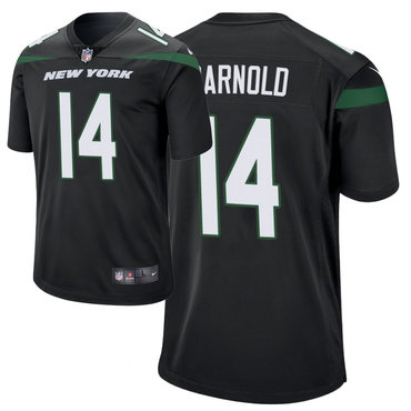Men's Nike New York Jets 14 Sam Darnold Black New 2019 Vapor Untouchable Limited Jersey