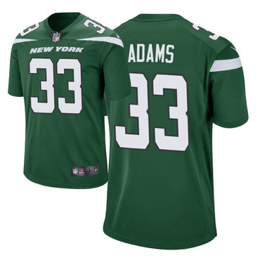 Men's Nike New York Jets 33 Jamal Adams Green New 2019 Vapor Untouchable Limited Jersey