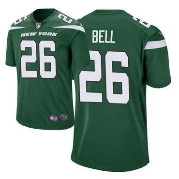 Youth Nike Jets 26 Le'Veon Bell Green New 2019 Vapor Untouchable Limited Jersey