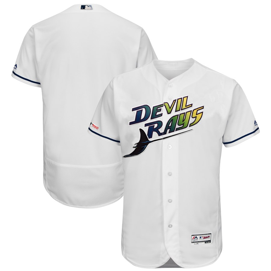 Men's Tampa Bay Rays Blank Turn Back The Clock 150th FlexBase Jersey