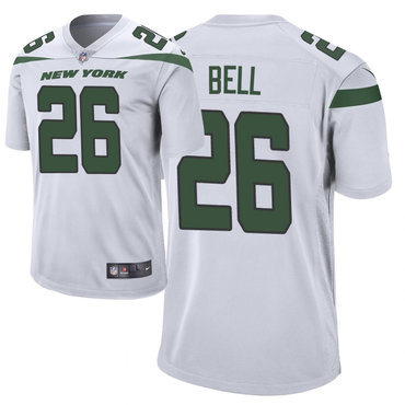 Size XXXXXXL Men's Nike New York Jets 26 Le'Veon Bell White New 2019 Vapor Untouchable Limited Jersey