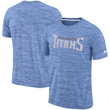 Nike Tennessee Titans Blue Velocity Performance T-Shirt