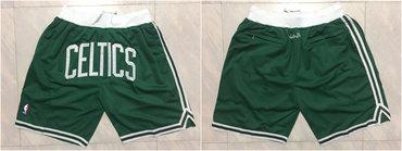 Celtics Green Just Don Mesh Shorts