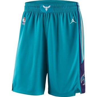 Men's Jordan Brand Teal Charlotte Hornets Icon Swingman Basketball Shorts