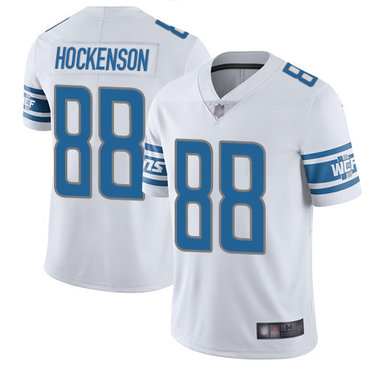 Lions #88 T.J. Hockenson White Youth Stitched Football Vapor Untouchable Limited Jersey