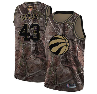 Raptors #43 Pascal Siakam Camo 2019 Finals Bound Basketball Swingman Realtree Collection Jersey